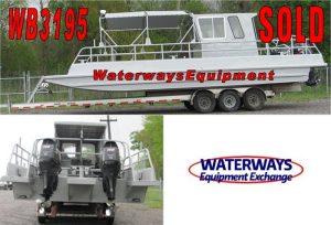 WB3195 – 300 HP ALUMINUM WORK BOAT