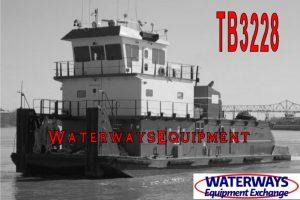 TB3228 - 2150 HP TOWBOAT