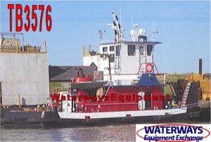 TB3576 - 600 HP PUSH BOAT