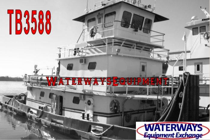 TB3588 - 1700 HP TOWBOAT