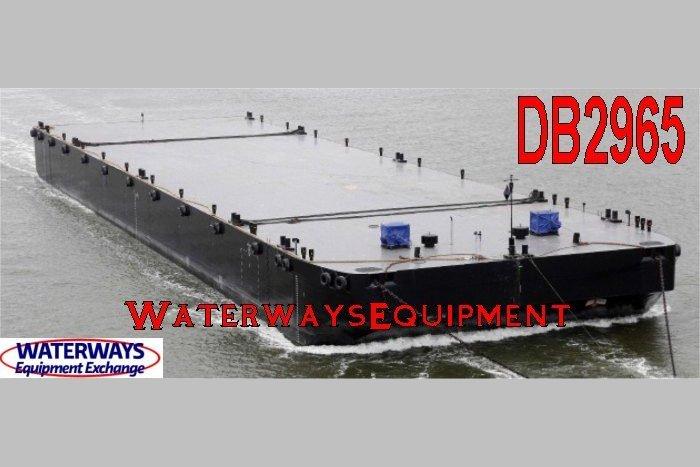DB2965 – 393′ x 105′ x 26′ HEAVY LOAD DECK BARGE
