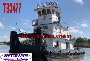 TB3477 - 1280 HP TOWBOAT