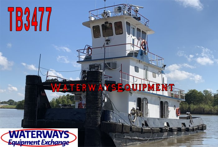 TB3477 - 1280 HP TOWBOAT