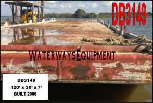 DB3149 – 120′ x 30′ x 7′ DECK BARGE