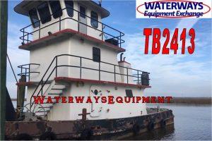 TB2413 – 600 HP PUSH BOAT