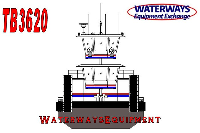 TB3620 - 2680 HP TOWBOAT