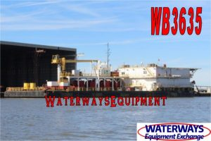 WB3635 - ACCOMMODATIONS WORK BARGE