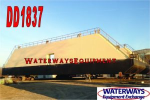DD1837 – 825 TON FLOATING DRY DOCK