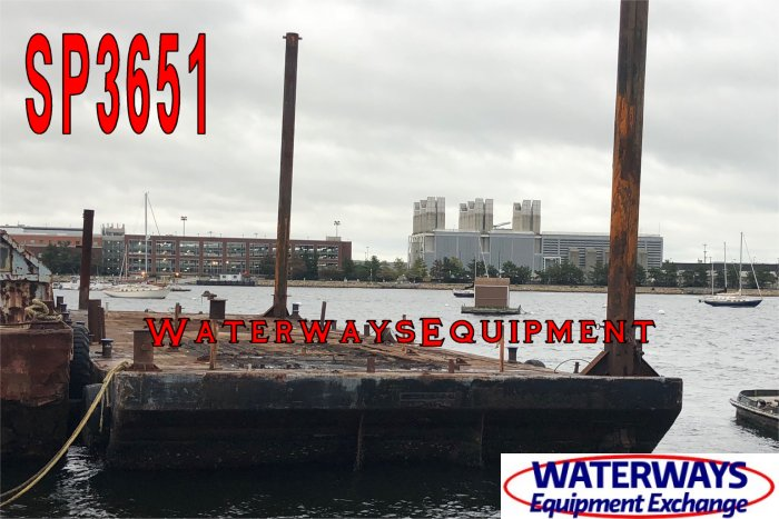 SP3651 - 110' x 34' x 7' SPUD BARGE