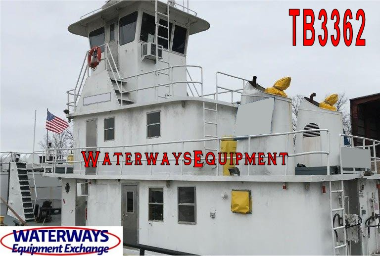 TB3362 - 1000 HP TOWBOAT FOR SALE