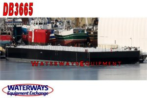 DB3665 - 250' x 72' x 16' ABS DECK BARGE