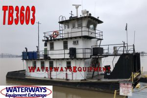 TB3603 - 690 HP TOWBOAT