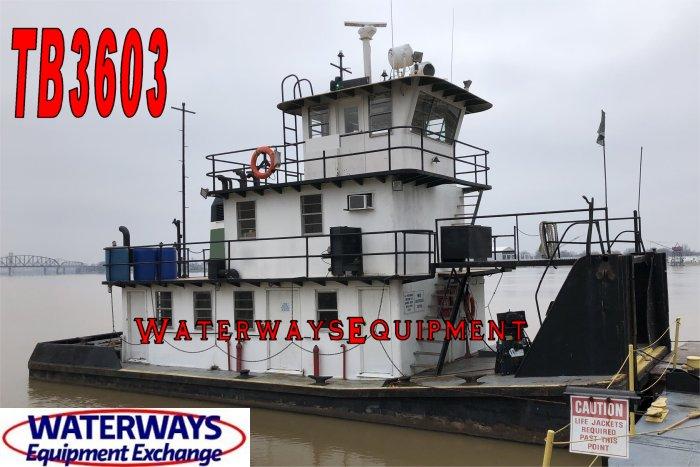 TB3603 - 690 HP TOWBOAT