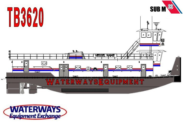 TB3620 – 2400 HP RETRACTABLE TOWBOAT