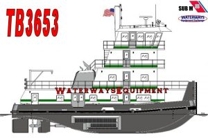 TB3653 – NEW 2250 HP TOWBOAT