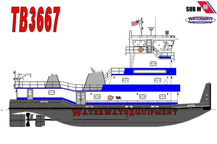 TB3667 – 2400 HP TOWBOAT