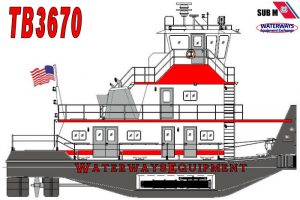 TB3670 - NEW 1500 HP TOWBOAT