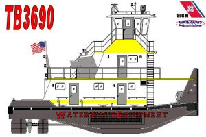 TB3690 - NEW 1320 HP TOWBOAT