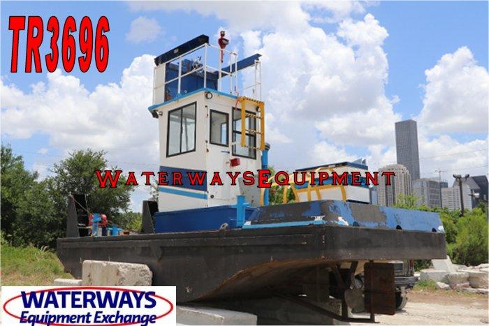 TR3696 - 165 HP TRUCKABLE BOAT