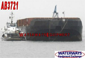 AB3721 - 315' x 82' x 23.5' ABS CARGO BARGE