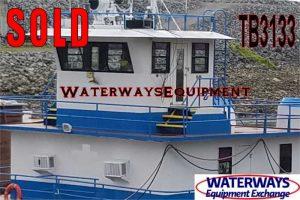 TB3133 - 1800 HP TOWBOAT