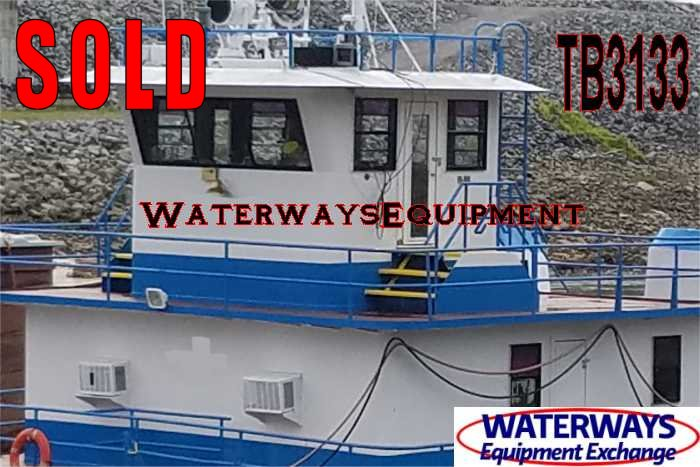 TB3133 - 1800 HP TOWBOAT