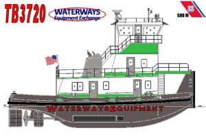TB3720 - NEW 2000 HP TOWBOAT