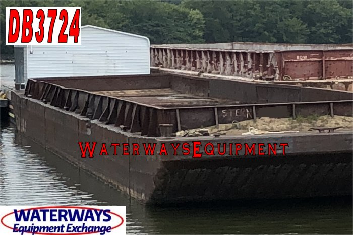 DB3724 - 195' x 35' x 10' DECK BARGE