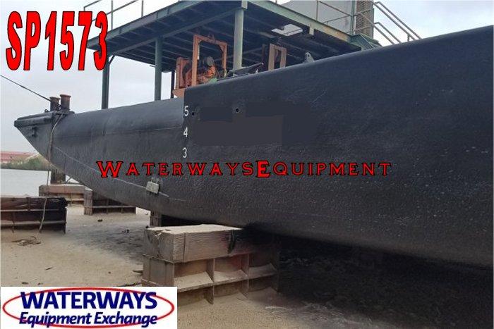SP1573 – 90′ x 30′ SPUD BARGE