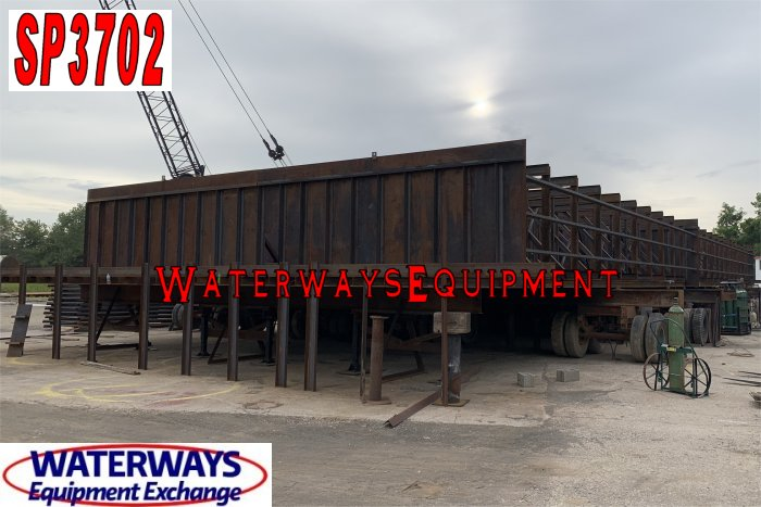 SP3702 – NEW SPUD BARGE – 140′ x 45′ x 8′