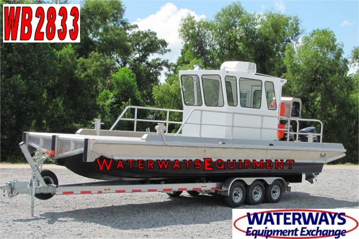 WB2833 - 600 HP WORK BOAT