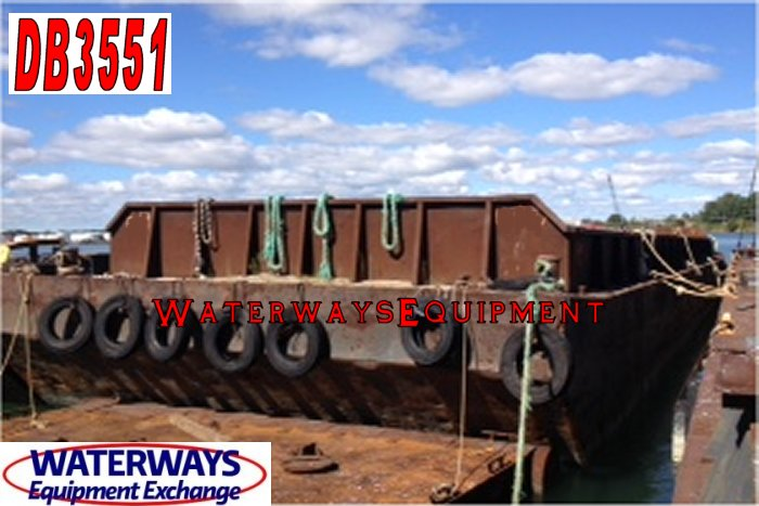 DB3551 - MATERIAL DECK BARGE