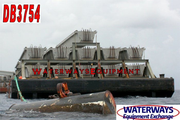DB3754 - 180' x 54' x 12' ABS DECK BARGE