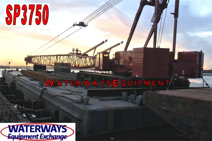 SP3750 - 160' x 60' ABS SPUD BARGE