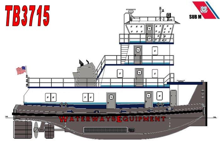 TB3715 – 1600 HP TOWBOAT