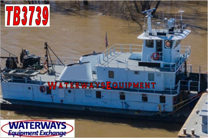 TB3739 - 2200 HP TOWBOAT FOR CHARTER