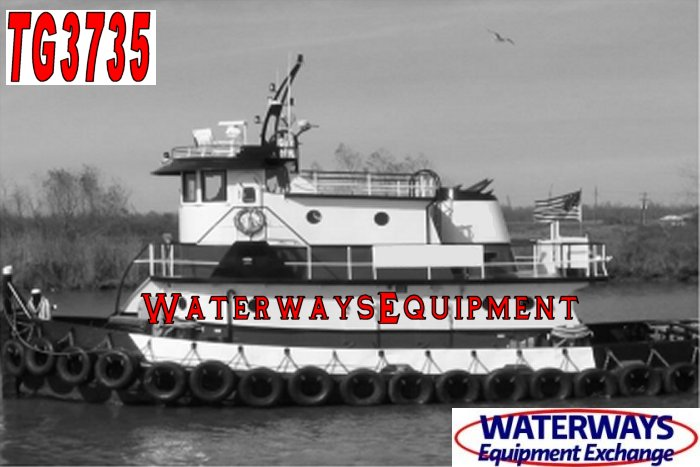 TG3735 - 1400 HP MODEL BOW TUG