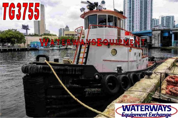TG3755 - 1200 HP MODEL BOW TUG