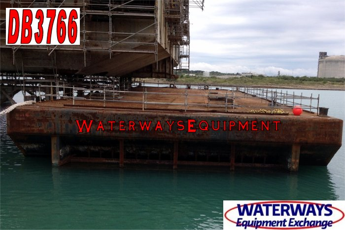 DB3766 - 180' x 54' x 12' ABS DECK BARGE FOR CHARTER