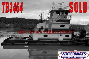TB3464 – 960 HP TOWBOAT - SOLD