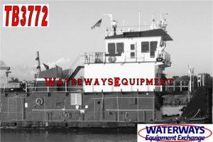 TB3772 - 2560 HP TOWBOAT