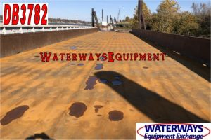 DB3782 - 195' x 35' x 9.5' MATERIAL DECK BARGE