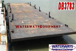 DB3783 - 120' x 30' x 7' DECK BARGE