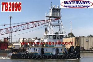 TB2096 – 800 HP TOWBOAT