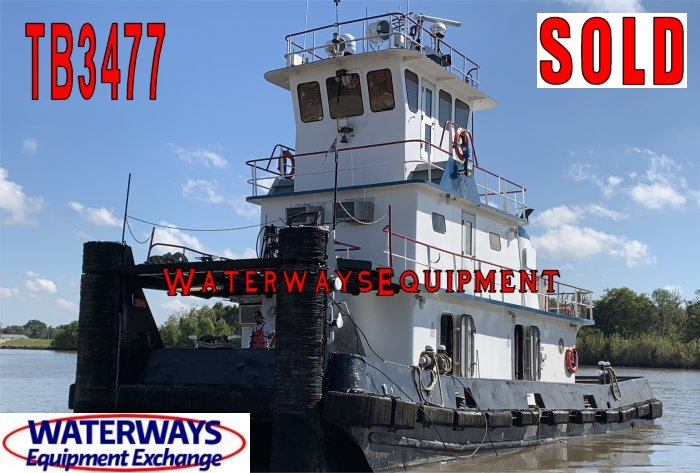 TB3477 – 1280 HP TOWBOAT
