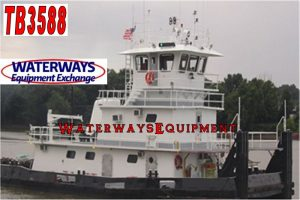 TB3588 – 2000 HP TOWBOAT
