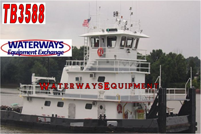 TB3588 – 2000 HP TOWBOAT