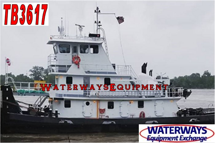 TB3617 – 2000 HP TOWBOAT