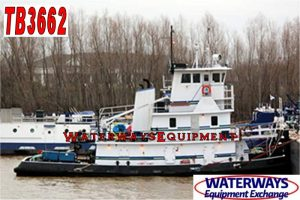 TB3662 - 1320 HP TOWBOAT