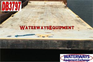 DB3797 - 120' x 32' x 7' DECK BARGE